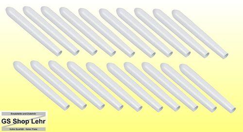 Geschirrkorb Schutzkappen Universal Reparatur Set Rostschutz für Stäbe 20 Stück